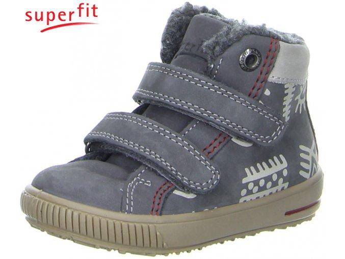 Detská obuv zimná Superfit 3 00351 06  - CENA JE PO ZĽAVE 20%, UŠETRÍTE 10,3 EUR