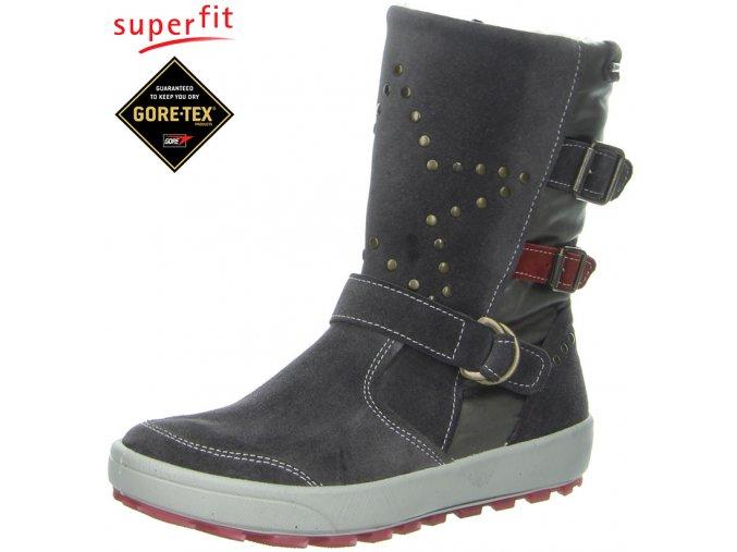 Detská obuv zimná goretexová Superfit 3 00484 05  - CENA JE PO ZĽAVE 20%, UŠETRÍTE 16,3 EUR