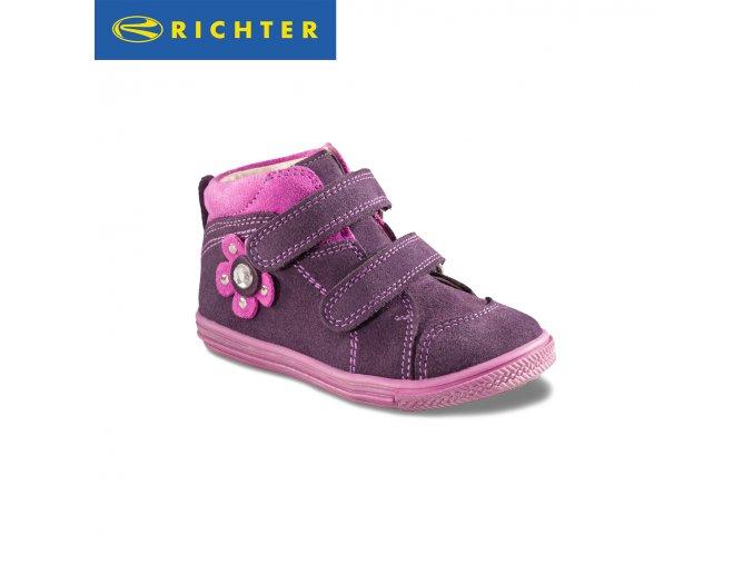 Detské dievčenské topánky Richter 0332 421 7501