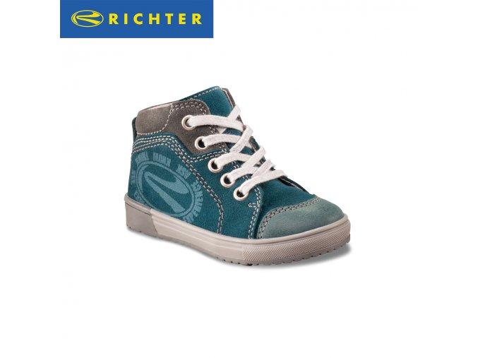 Detská obuv celokožená celoročná Richter 0521 421 8201