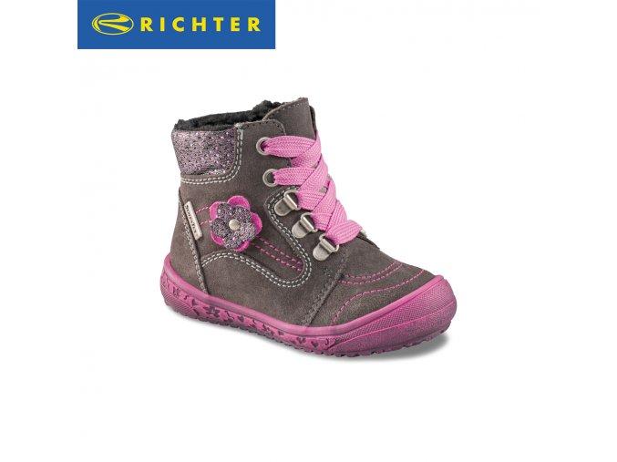 Detské zimné topánky Richter s membránou Sympatex 1322 421 6611  - CENA JE PO ZĽAVE 20%, UŠETRÍTE 12,92 EUR