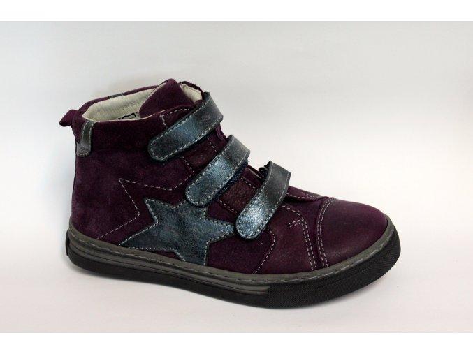 Detská obuv Ciciban 742588U Carmen viola