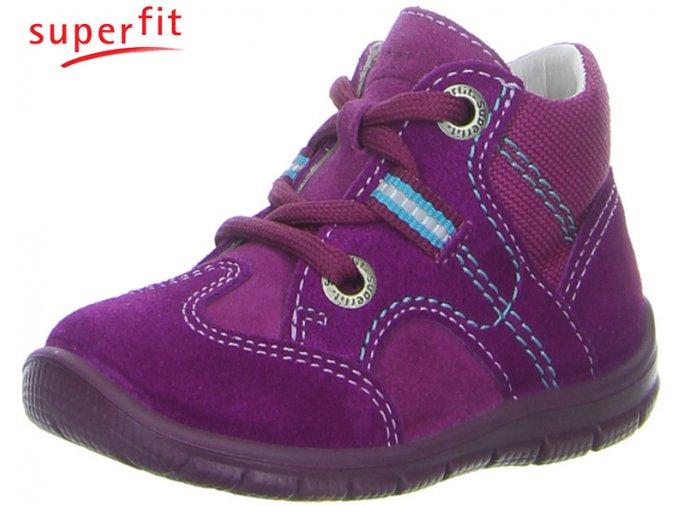 Detské členkové celoročné topánky Superfit 3 00337 61 - CENA JE PO ZĽAVE 30%, UŠETRÍTE 13,17 EUR