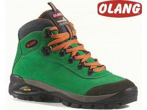 Trekingové topánky Olang Asiago Kid tex Verde
