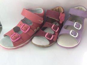 Detské zdravotné sandále šedé T 213