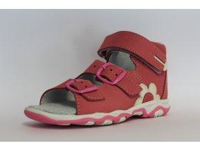 Detské zdravotné sandále ružové T 213