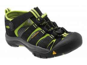 KEEN KIDS Newport H2 black/lime green