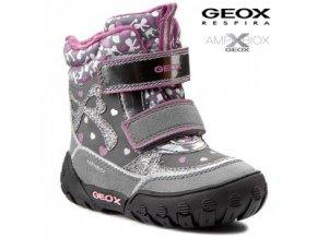 Geox dievčenská nepremokavá zimná obuv B5404A 050AU C1006 - CENA JE PO  ZĽAVE 20% aac65ca5919