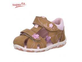 Detské sandálky Superfit 6 00038 31  - CENA JE PO ZĽAVE 20%, UŠETRÍTE 10,17 EUR