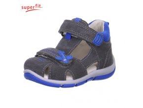Detské sandálky Superfit 6 00144 06- CENA JE PO ZĽAVE 30%, UŠETRÍTE 13,02 EUR