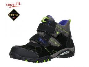 Chlapčenská obuv pre deti Gore-texová Superfit 7 00364 02