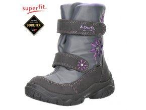 Detská obuv zimná Gore-texová Superfit 7 00091 17