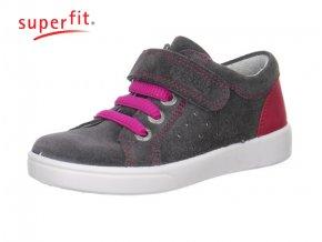 Dievčenská celokožená obuv Superfit 0 00018 06