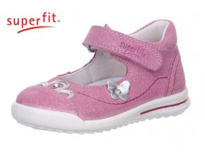 Dievčenská celokožená vychádzková obuv Superfit 0 00373 67