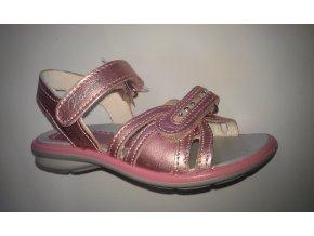 detská obuv letná IMAC 77632 pink/pink