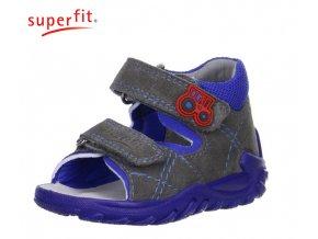 Detské zdravotné sandále Superfit 0 00011 06  - CENA JE PO ZĽAVE 20%, UŠETRÍTE 8,44 EUR