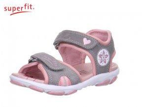 Detské dievčenské sandále Superfit 0 00128 44  - CENA JE PO ZĽAVE 20%, UŠETRÍTE 8,44 EUR