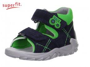 Detské zdravotné sandále Superfit 0 00011 81  - CENA JE PO ZĽAVE 20%, UŠETRÍTE 8,44 EUR