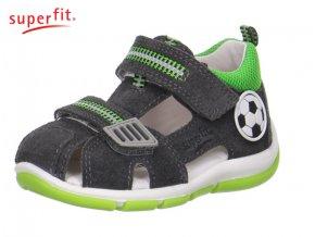 Detské sandálky Superfit 0 00139 07  - CENA JE PO ZĽAVE 20%, UŠETRÍTE 9,34 EUR