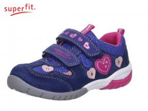 Detská dievčenská obuv celoročná Superfit 2 00135 88