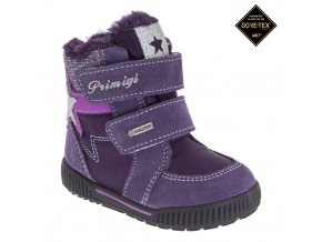 Detská dievčenská obuv zimná Goretexová Primigi 85541/77
