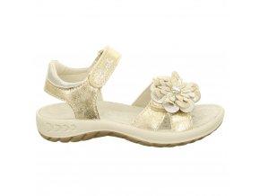 Dievčenské celokožené sandálky Lurchi by Salamander 33-18716-39