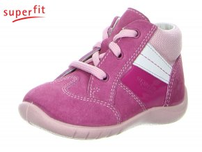 Detské celoročné topánky pre začiatočníkov Superfit 2 00337 64 - CENA JE PO ZĽAVE 30%, UŠETRÍTE 13,14 EUR