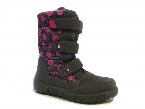 Detská dievčenská zimná nepremokavá obuv Richter 5150 441 6301