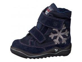 Detské zimné nepremokavé topánky Ricosta Hildi nautic 68 38231/171