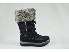 Detská dievčenská obuv zimná Goretexová Primigi 23866/22