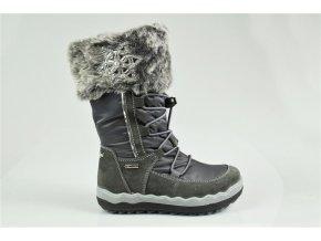 Detská dievčenská obuv zimná Goretexová Primigi 23866/33