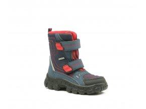 Detská chlapčenská zimná nepremokavá obuv Richter 7931 441 7201  - CENA JE PO ZĽAVE 20%, UŠETRÍTE 12,9 EUR (veľk.27)