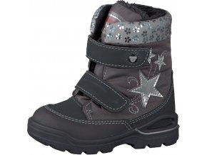 Dievčenská zimná nepremokavá obuv Ricosta FINJA 68 39312/472