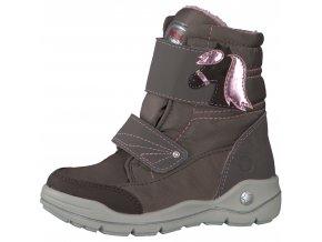 Detská dievčenská zimná nepremokavá obuv Ricosta Garei 68 84215/285