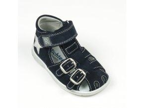 Detská dievčenská sandálka Richter 2604 541 7200  - CENA JE PO ZĽAVE 20%, UŠETRÍTE 9,1 EUR (veľk.20,21,22) 9,84 EUR (veľk.24,25) 10,7 EUR (veľk.28,30)