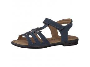 Dievčenské sandále Ricosta 69 70203/173 - CENA JE PO ZĽAVE 20%, UŠETRÍTE 12,3 EUR (veľk.35) 13,2 EUR (veľk.38,41,42)