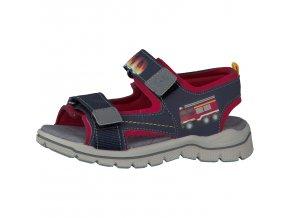Chlapčenské blikacie sandále Ricosta 69 62274/174 - CENA JE PO ZĽAVE 20%, UŠETRÍTE 11,40 EUR (veľk.27) 12,- EUR (veľk.32)