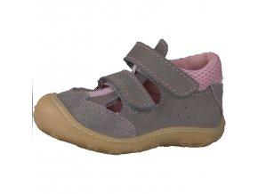 Detské dievčenské sandálky Ricosta Ebi 69 12214/454  - CENA JE PO ZĽAVE 20%, UŠETRÍTE 12,3 EUR