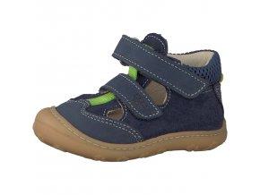 Detské chlapčenské sandálky Ricosta Ebi 69 12214/174  - CENA JE PO ZĽAVE 20%, UŠETRÍTE 12,3 EUR