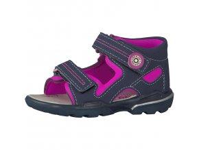 Dievčenská sandálka Ricosta manti nautic/pink 69 32215/335