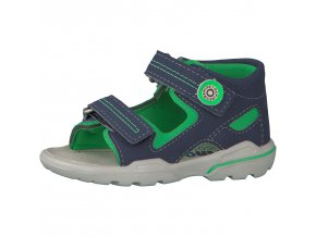Detské sandálky Ricosta manti nautic/grun 69 32215/555