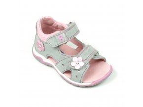 Detská dievčenská sandálka Richter 2302 542 1821  - CENA JE PO ZĽAVE 20%, UŠETRÍTE 9,86 EUR (veľk.20) 10,7 EUR (veľk.24,26)