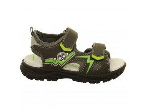 Chlapčenské blikajúce sandále Lurchi by Salamander 33-32011-31 - CENA JE PO ZĽAVE 20%, UŠETRÍTE 9,08 EUR (veľk.26,27,28) 10,- EUR (veľk.31,32,33)
