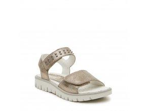 6670e1f19a03 Dievčenské celokožené sandále Primigi 33910 44
