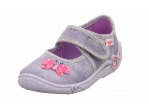Detské dievčenské papučky Superfit 8 00288 06