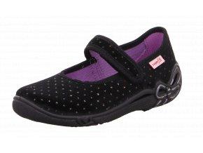 Detské dievčenské papučky Superfit 8 00287 00