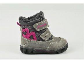 Detská dievčenská zimná goretexová topánka Primigi 43687/22