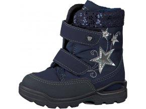 Detská dievčenská nepremokavá zimná obuv Ricosta 70 39312/170