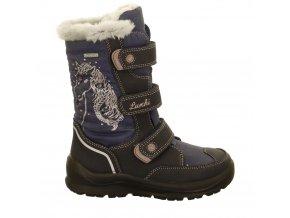 Dievčenské zimné nepremokavé topánky blikajúce Lurchi by Salamander 33-31024-42