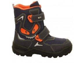 Chlapčenské zimné nepremokavé blikajúce topánky Lurchi by Salamander 33-31044-32
